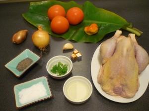 poulet kedjenou ingrédients