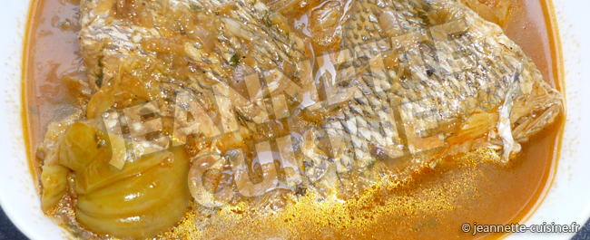 Pepe Soupe De Poisson Plat Africain Jeannette Cuisine