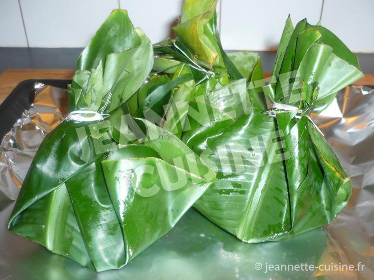 Poisson En Papillote Plat Africain Jeannette Cuisine