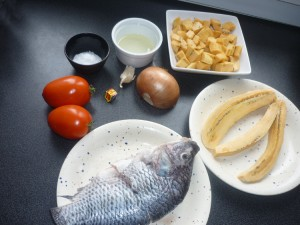 Ingredient aloco poisson