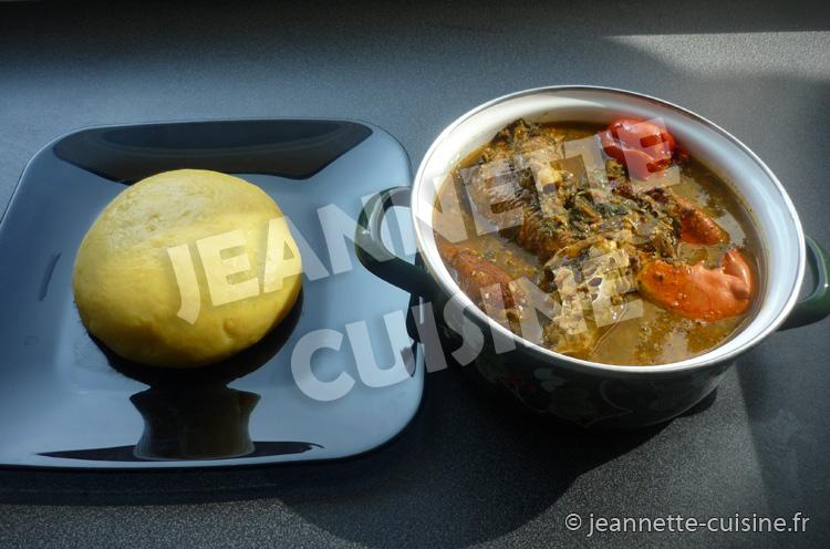 La sauce n tro plat africain jeannette cuisine for Africaine cuisine