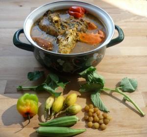 Sauce n'tro- une recette ivoirienne