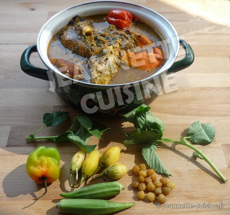 Sauce ntro, une recette ivoirienne