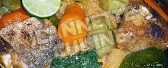 Tiep bou dienn riz au poisson plat africain jeannette cuisine - Recette de cuisine senegalaise ...