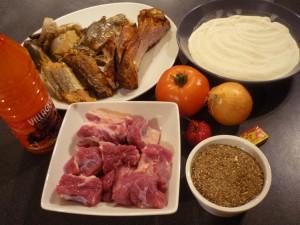Sauce djoumgblé - ingrédients