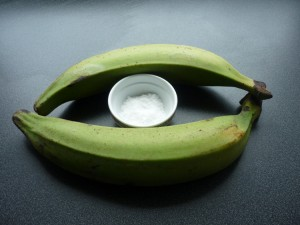 Banane plantin verte - non mures