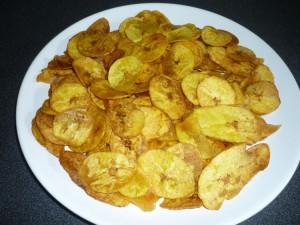 Chips de bananes plantin