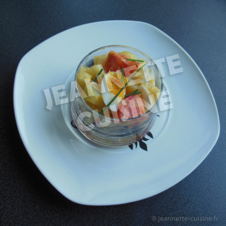 Salade de pomme de terre plat jeannette cuisine - Cuisine de pomme de terre ...