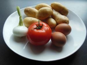 Salade de pommes de terre - Jeannette Cuisine
