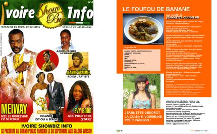Ivoire Show Biz Info
