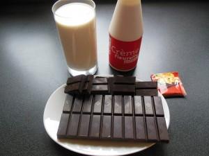 Mousse au chocolat - ingrédients