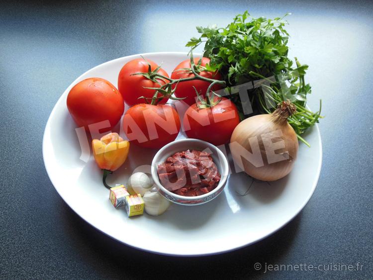 La sauce tomate par jeannette cuisine accompagnement jeannette cuisine - Sauce pour crustaces grilles ...