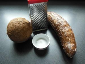 Boules de maniocs ingrédients