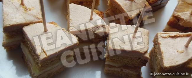 Foie gras au pain d'épice et pommes