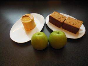 Foie gras au pain d'épices et pommes - ingrédients