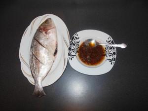 préparation de la marinade