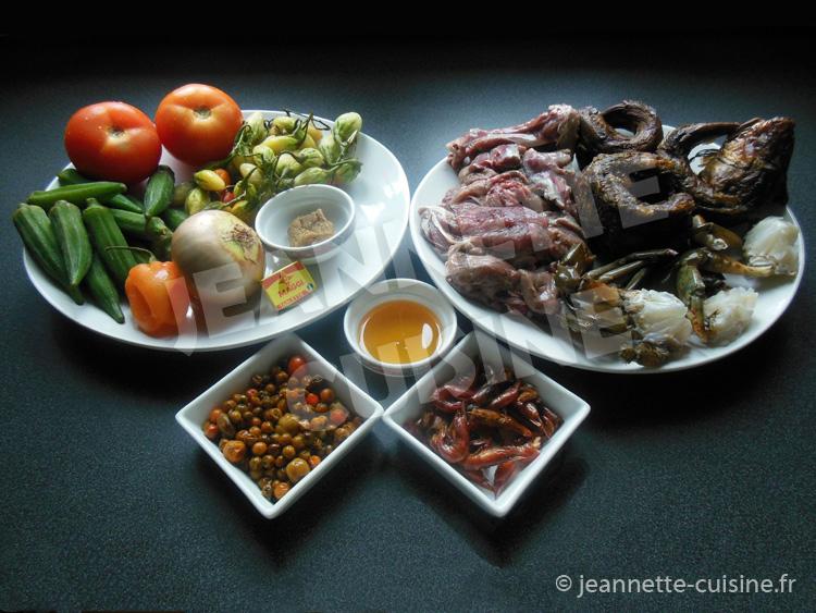 Sauce gouagouassou plat africain jeannette cuisine - Recette de cuisine ivoirienne gratuite ...