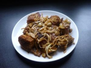 Porc au four avec soukouya
