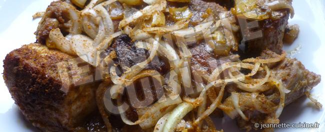 Porc au soukouya - Jeannette Cuisine