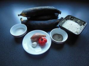 Claclo de bananes - Ingrédients