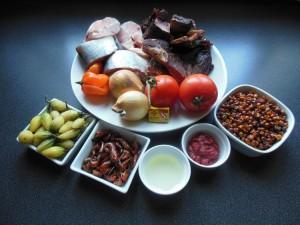Les ingrédients de la sauce baoulée gnangnan