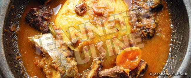 Sauce baoulé gnangnan
