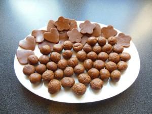 Toffee faire des bonbons de différentes formes