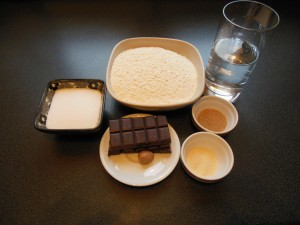Boflotos au chocolat - ingrédients