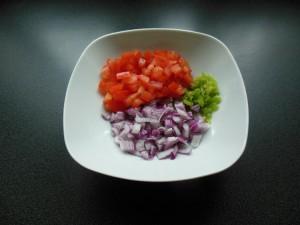 Le légumes du garba attieke