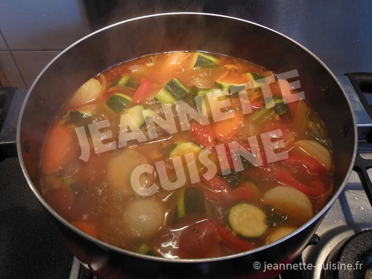 Le couscous fa on jeannette plat africain jeannette cuisine - Recette de cuisine simple avec des legumes ...
