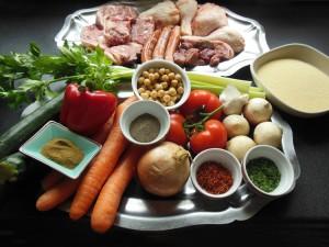 Les ingrédients du couscous