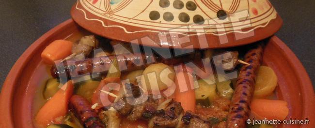 Le couscous de Jeannette Cuisine