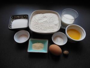 ingrédients pour la croquette apéritive