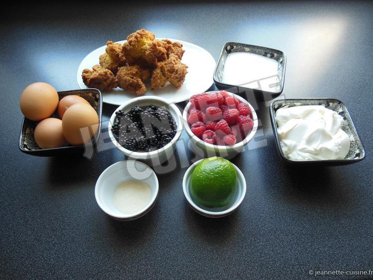 le dessert de jeannette cuisine aux fruits rouges dessert jeannette cuisine. Black Bedroom Furniture Sets. Home Design Ideas