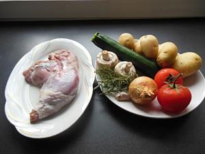 ingrediens-pour-la-cuisse-de-dinde-au-four