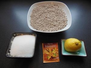 Bouillie de mil-Citron-sucre