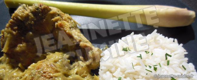 poulet cury couv
