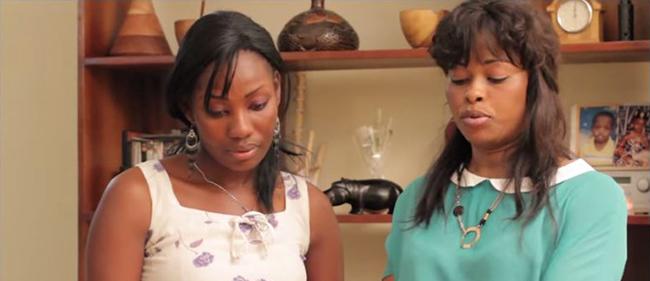 Jeannette Cuisine rencontre une fan à Abidjan