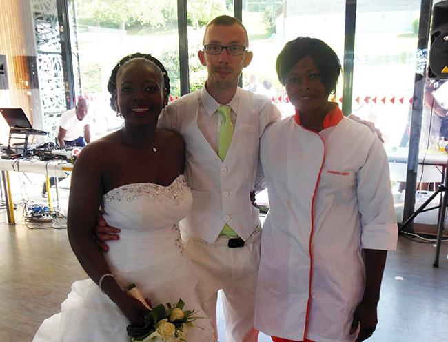 Mariage traiteur africain et européen