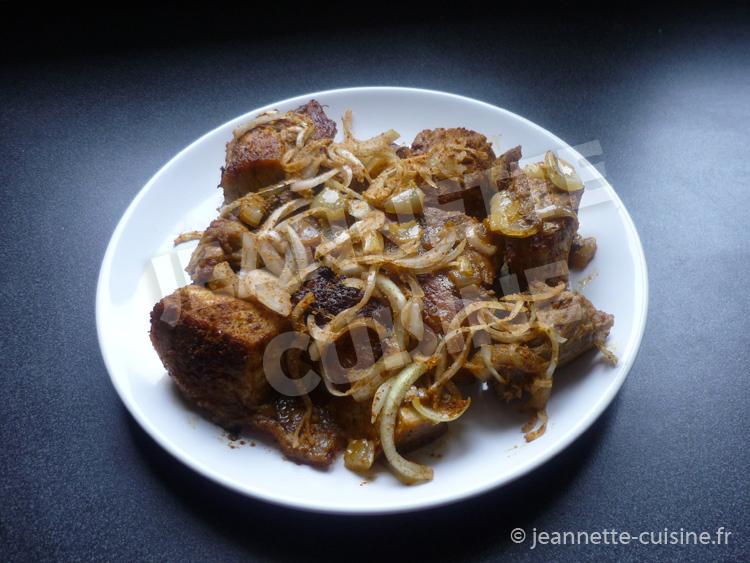 Soukouya de porc au four plat africain jeannette cuisine - Recette de cuisine cote d ivoire ...